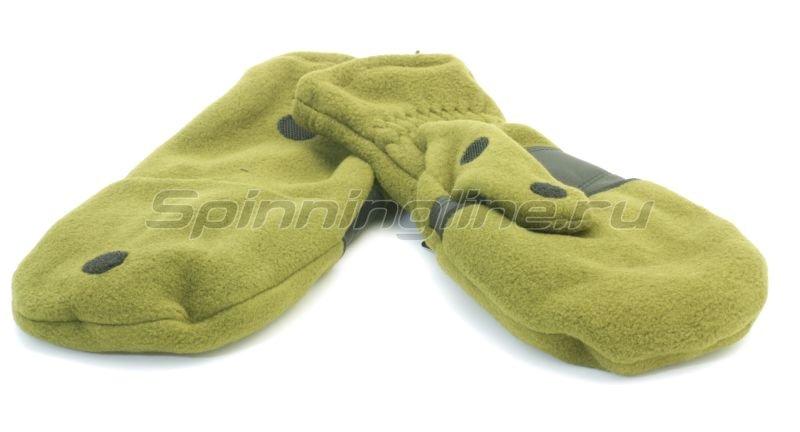 Bask - Перчатки - варежки Vary V3 оливковый хаки L - фотография 1
