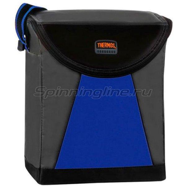 Сумка изотермическая Thermos Geo Trek Quick Access 12 Can Coller Blue - фотография 1