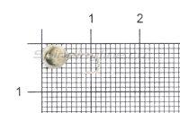 Мормышка LumiCom Дробинка с отверстием d5 никель