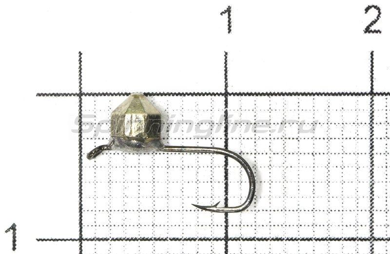 Lumicom - Мормышка Кристалл с ушком d3 никель - фотография 1