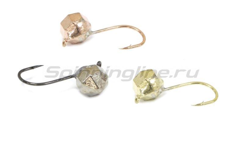 Lumicom - Мормышка Кристалл с ушком d3 никель - фотография 2