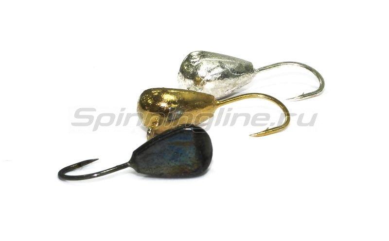 Lumicom - Мормышка Лещевая d8 никель - фотография 2