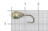 Мормышка Капля с отверстием d6 никель