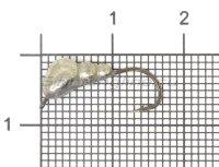 Мормышка LumiCom Муравей с ушком d5 никель
