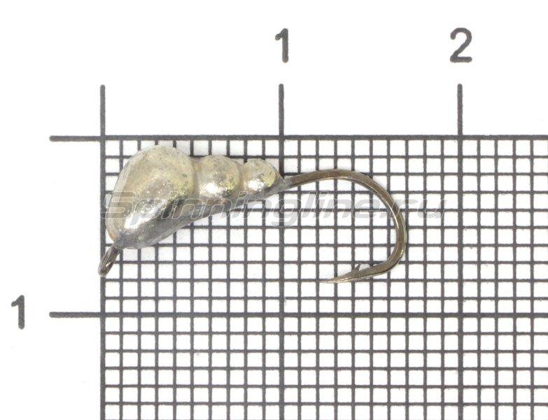 Lumicom - Мормышка Муравей с ушком d5 никель - фотография 1