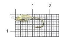 Мормышка Овсинка с ушком d5 серебро