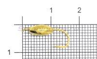 Мормышка Овсинка с ушком d5 золото