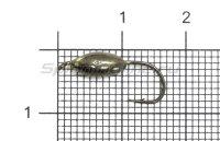 Мормышка Овсинка с ушком d5 черный никель