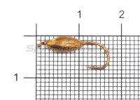 Мормышка Овсинка с ушком d5 медь
