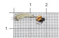 Мормышка LumiCom Безмотылка №2 уралка d5 никель
