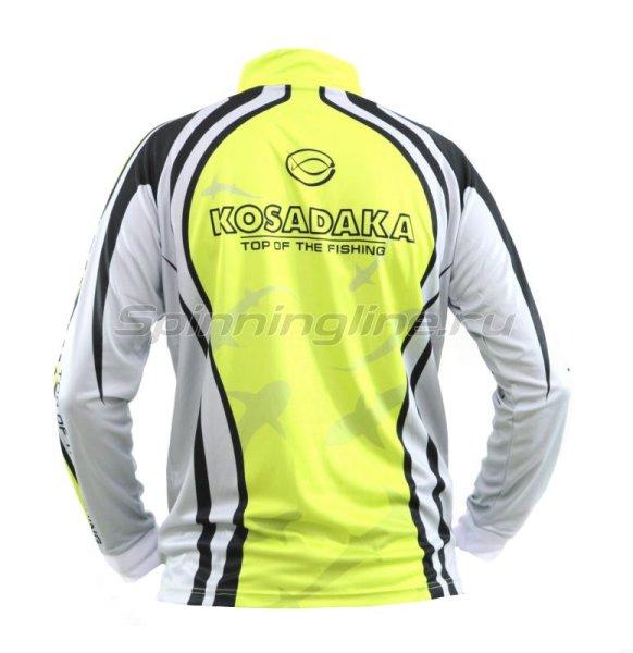 Футболка Kosadaka Sunblock 3XL серо-зеленая - фотография 2