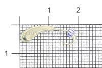 Мормышка Безмотылка №4 уралка d5 серебро