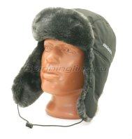 Шапка-ушанка Kosadaka Arctic меланж, черный XL
