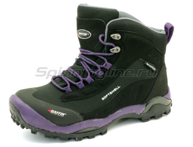 Baffin - Ботинки женские Hike Black/Plum 08 - фотография 2