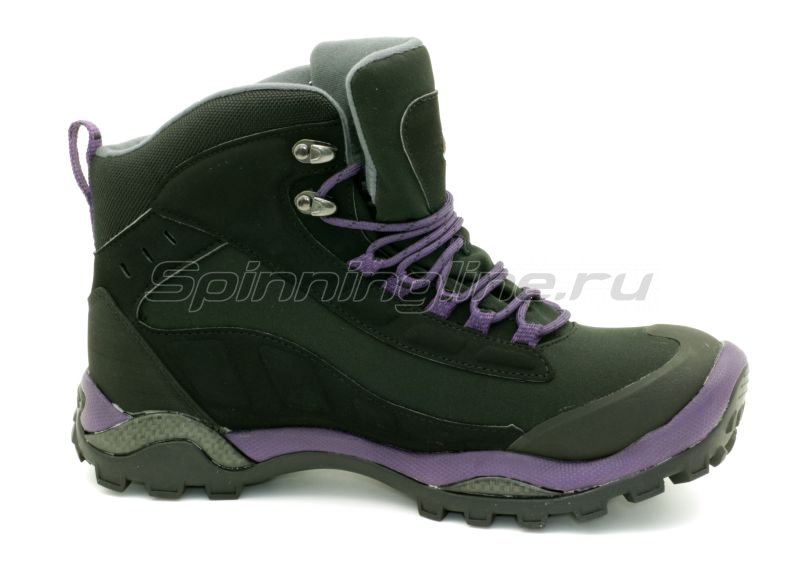 Baffin - Ботинки женские Hike Black/Plum 08 - фотография 3