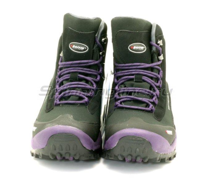 Baffin - Ботинки женские Hike Black/Plum 08 - фотография 4