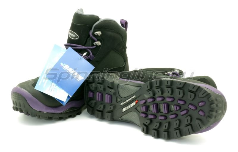 Baffin - Ботинки женские Hike Black/Plum 08 - фотография 5