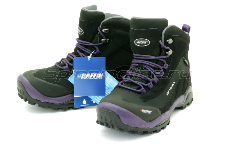 Ботинки женские Hike Black/Plum 10 -  1