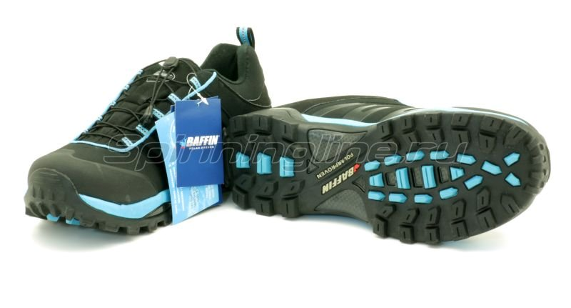 Baffin - Ботинки Leader Black/Electric Blue 09 - фотография 5