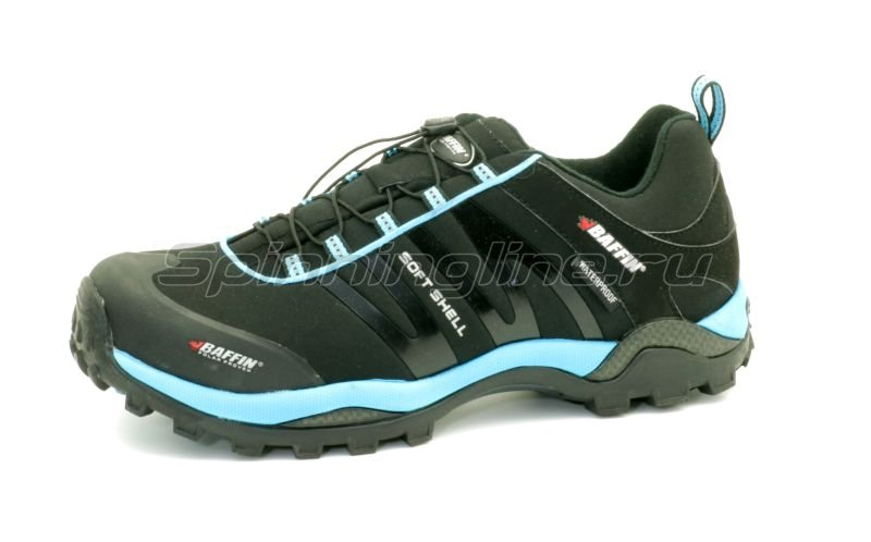 Baffin - Ботинки Leader Black/Electric Blue 12 - фотография 3