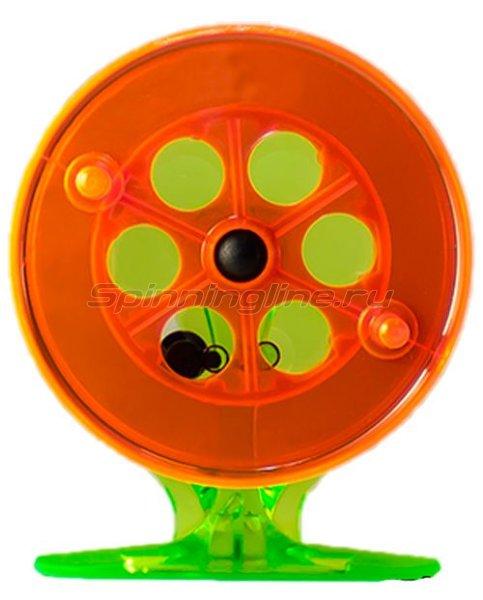 Катушка Пирс Мастер проводочная 75ПК зеленый/оранжевый -  1