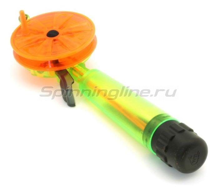 Удочка зимняя WH 60 L200 зеленый/оранжевый -  1