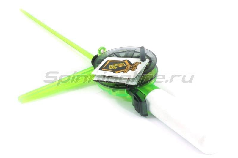 Удочка зимняя WH 56P L220 зеленый/серый -  1