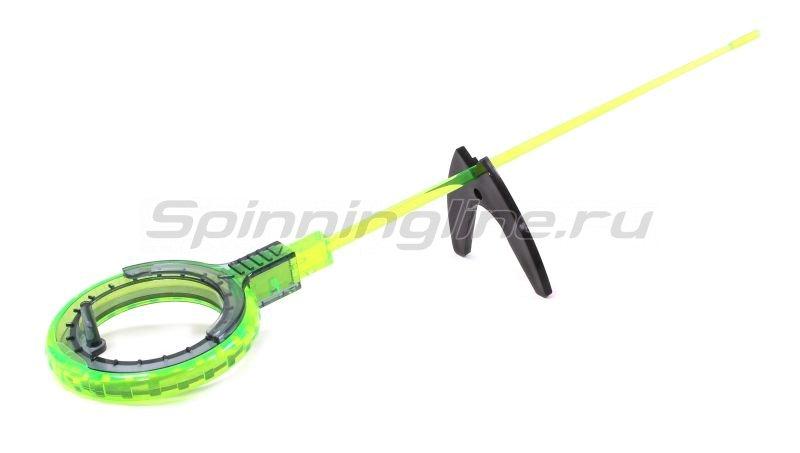 Пирс Мастер - Удочка зимняя WH 50B L 150 зеленый/серый - фотография 1