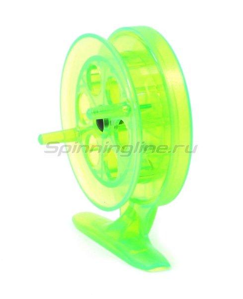 Катушка Пирс Мастер проводочная Winter House 68ПК зеленый - фотография 3