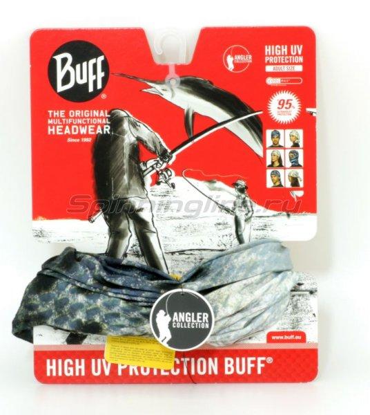 Бандана Buff Angler High UV Protection speckled trout - фотография 1