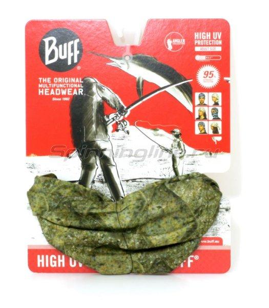Бандана Buff Angler High UV Protection winter flounder -  1