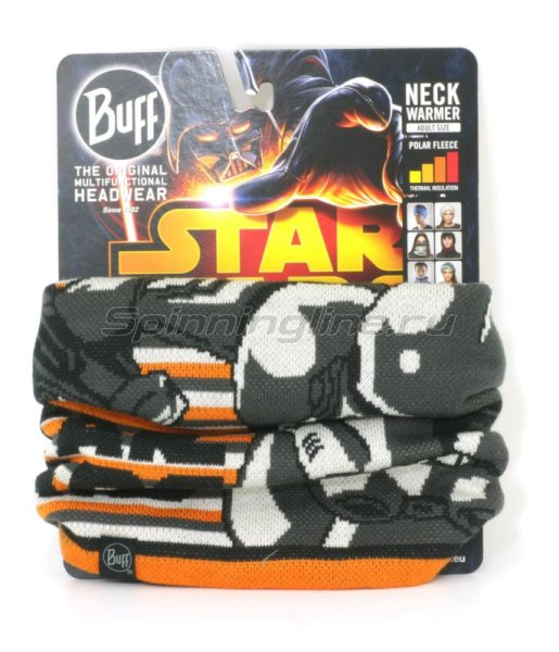Buff - Шарф Licenses Star Wars Neckwarmer Knitted&Polar fleece clone - фотография 1