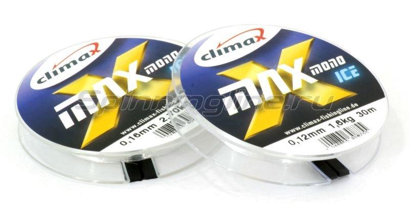 Леска X-Max Mono Ice 30м 0,14мм -  1