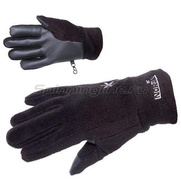Перчатки Norfin Fleece Black L - фотография 1