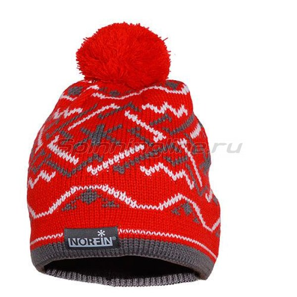 Шапка Norfin Norway Women Red L -  1