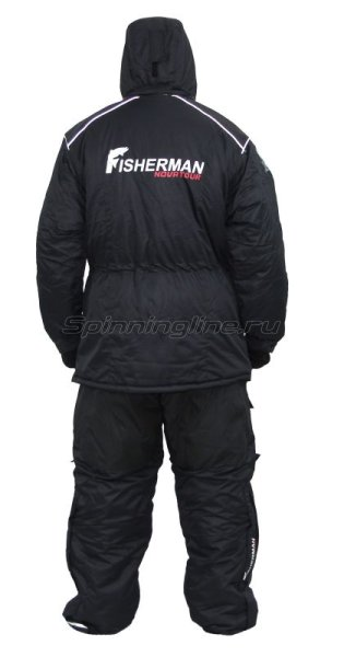 Костюм Fisherman - Nova Tour Буран Норд M черный - фотография 2