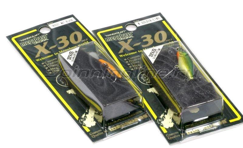 Воблер X-30 Marukin S pellet -  2