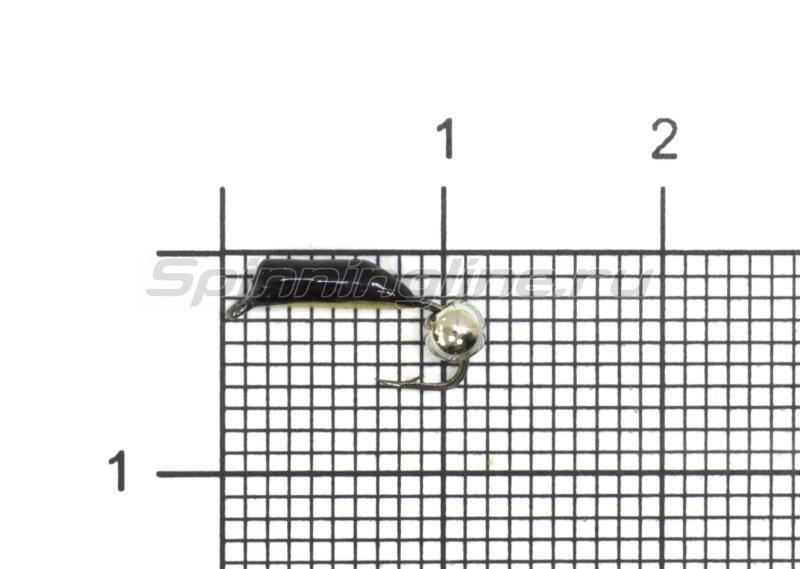Санхар - Мормышка Столбик №1 d1.5 серебряный шар, латунь - фотография 1