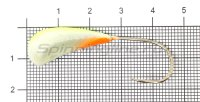 Мормышка Fish Gold судаковая Трехгранка Светлячок кр. Gamakatsu 14гр 07 лимонный