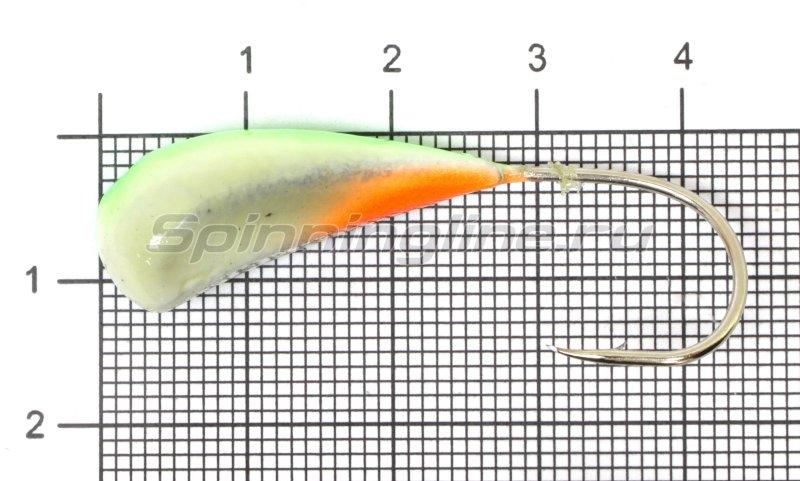 Мормышка Fish Gold судаковая Трехгранка Светлячок кр. Gamakatsu 14гр 08 зеленый -  1