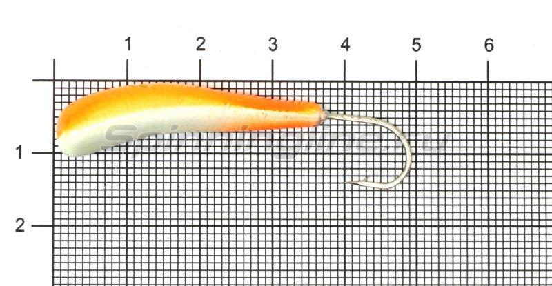 Мормышка судаковая Клык 1 Светлячок 13гр 10 красный -  1