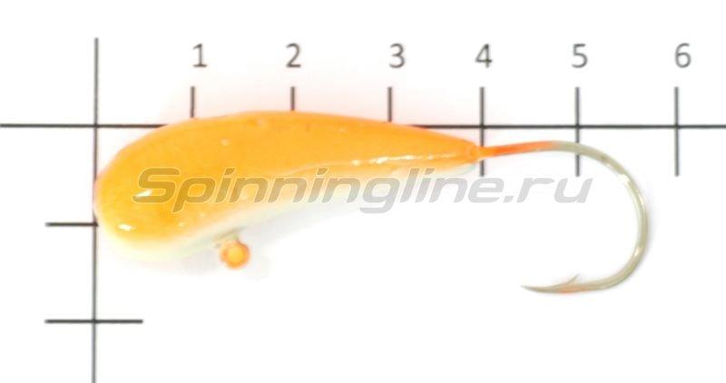 Мормышка Fish Gold судаковая Уралка Светлячок кр. Gamakatsu 28гр оранжевый -  1