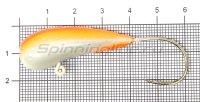 Мормышка Fish Gold судаковая Уралка Светлячок кр. Gamakatsu 32гр красный