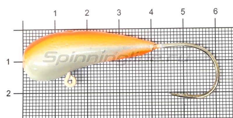 Мормышка Fish Gold судаковая Уралка Светлячок кр. Gamakatsu 32гр красный -  1