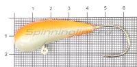Мормышка Fish Gold судаковая Уралка Светлячок кр. Gamakatsu 40гр красный