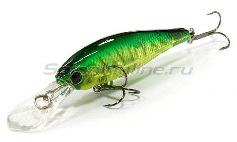 Воблер Lucky Craft Pointer 48DD 5412 Lime Chart Tiger 445 -  1