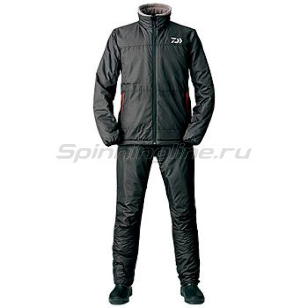 Костюм Daiwa Warm-Up Black XXXXL -  1