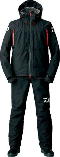 Костюм Daiwa Gore-Tex 2-Way Hi-Brid Barrier Suit Black XXXL - фотография 1