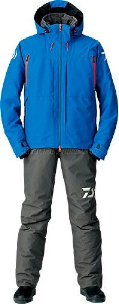 Костюм Daiwa Gore-Tex 2-Way Hi-Brid Barrier Suit Blue XXL - фотография 1