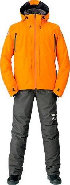 Костюм Daiwa Gore-Tex 2-Way Hi-Brid Barrier Suit Orange XL - фотография 1